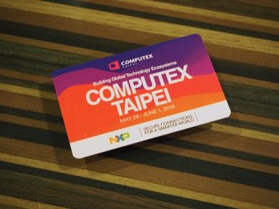 COMPUTEX TAIPEI 2019 MRTカード