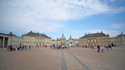 アマリエンボー宮殿とフレデリック教会